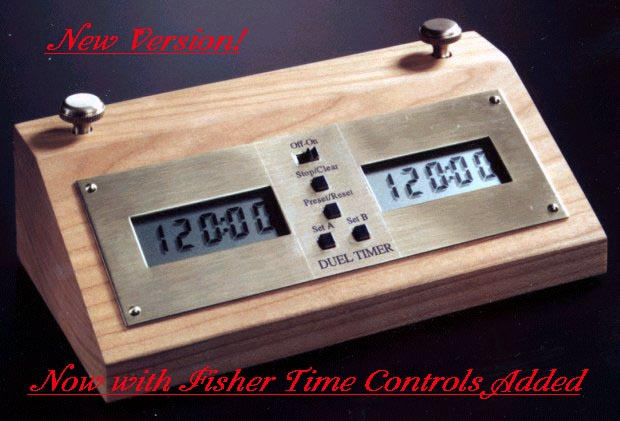 Duel Timer Digital Chess Clock