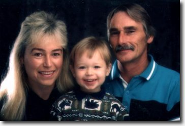 Jane, Alex and Dennis Petersen